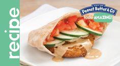 Vegan Peanut Butter Chickpea Burgers #tasteamazing