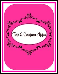 Reviews of the top 6 coupon apps for iPhones and Androids.