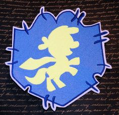 MLP Cutie Mark Crusader Iron On Embroidery Patch MTCoffinz - Choose Size