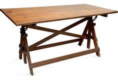 Vintage Drafting Table on OneKingsLane.com