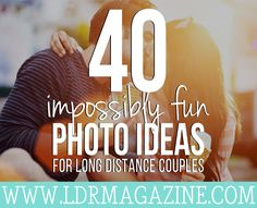 44  Impossibly Fun Photo Ideas For Long Distance Couples