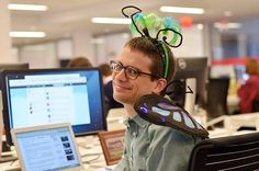 Butterfly | 35 BuzzFeed Employees Who Dressed Up For Halloween