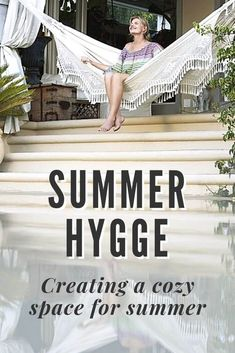 Create a peaceful, cozy home with these summer hygge ideas. Hygge lifestyle ideas and gifts will make your home a peaceful oasis this summer. lifestyle ideas Create a cozy space for your summer hygge Pierre Jeanneret, Chandigarh, Summer Hygge, What Is Hygge, Hygge Life, Scandinavian Living, Scandinavian Interiors, Cozy House, That Way