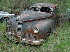 Junk Cars | Relic Or Wreck..1947 Packard Clipper ..The Last Year For Packards ...