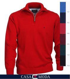 http://www.the-big-gentleman-club.com/casa-moda-004230-zip-pullover-7-farben-xxl-uebergroesse.html Hochwertiger Troyer Pullover mit Zipper in 6 Farben 1-6XL.