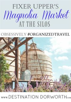 If you're ever near Waco, Texas and you love the HGTV show Fixer Upper with Chip and Joanna Gaines then you've got to go visit the Magnolia Market at the Silos!!