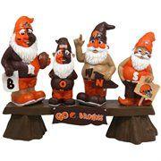 Cleveland Browns Fan Gnome Bench #Fanatics #PinForPresents