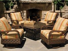 Lloyd Flanders premium outdoor furniture is woven for life and crafted to serve your family for generations. Browse our Lloyd Loom wicker, woven vinyl, and antiqued teak furniture collections and locate an authorized retailer. Wicker Furniture Cushions, Outdoor Furniture Covers, Patio Furniture Sets, Furniture Decor, Modern Patio, Luxury Home Decor, Living Room Designs, Outdoor Living, Outdoor Lounge