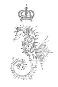 Seahorse by me on Behance