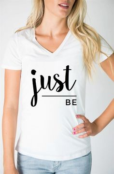 Are you bold, brave, kind, still, or true? Which inspirational phrase speaks to you? These graphic tees are great for every day wear, can be dressed up or down, and make the most perfect gifts!