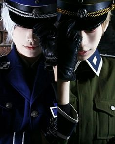 Germany and Prussia cosplay -Hetalia.they're so beautiful Epic Cosplay, Amazing Cosplay, Cosplay Costumes, Anime Cosplay, Cosplay Ideas, Spamano, Usuk, Hetalia Cosplay, Germany And Prussia