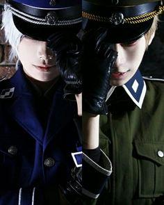 Germany and Prussia cosplay -Hetalia