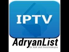BEST STALKER LIST - ADRYAN IPTV STALKER - XBMC / KODI LIST