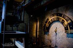 Inside the clock tower, Luzern