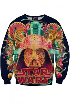 Star Wars Sweatshirt designed by Antoni Tudisco - #REPIN for a chance to win!   Contest Rules: 1 winner picked DAILY Must share 2 product posts to qualify Winner will be added to a VIP Facebook Group Winner will is announced 4-6 days after the contest and will receive 1 product