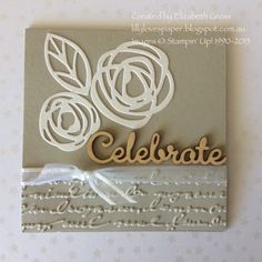 Lillybet's Papers: A few wedding cards- it's that time of year! #weddings #ellenhutson bold blooms