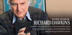 Selfish Gene Author RICHARD DAWKINS On God, Man And Meaning of Life
