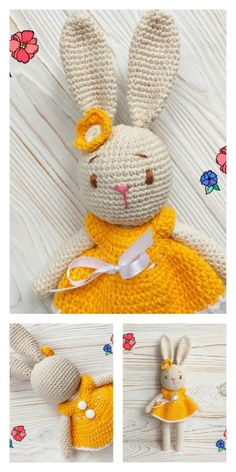Crochet Animal Patterns, Crochet Patterns Amigurumi, Stuffed Animal Patterns, Amigurumi Doll, Crochet Motif, Crochet Toys, Free Crochet, Crochet Baby, Knitting Blogs