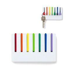 Comprar colgador llaves pared Vinçon