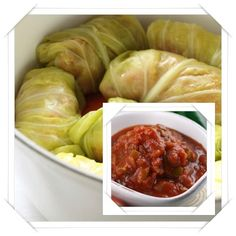 Lentil Cabbage Rolls with Red Sauce (scroll to the end)