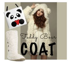 """""""White Teddy"""" by ileshino ❤ liked on Polyvore featuring Bedroom Athletics"""