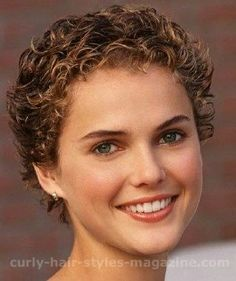 Perms For Short Hair | Picture of Keri Russell with very short ...