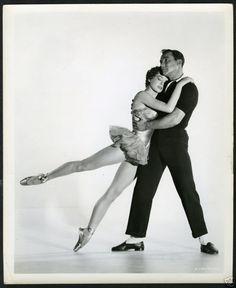 Leslie Caron and Gene Kelly