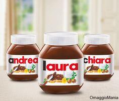 Nutella personalizzata con il proprio nome - http://www.omaggiomania.com/omaggi-con-acquisto/nutella-personalizzata-il-proprio-nome/
