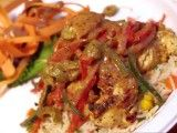 Cooking Channel serves up this Yassa Chicken recipe plus many other recipes at CookingChannelTV.com - Lion King