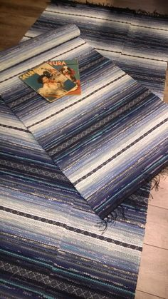 Räsymatot - Mattopuoti Picnic Blanket, Outdoor Blanket, Bohemian Rug, Weaving, Textiles, Rag Rugs, Contemporary, Home Decor, Carpet