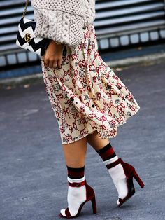 How to Not Look Crazy in Socks and Sandals via @WhoWhatWear