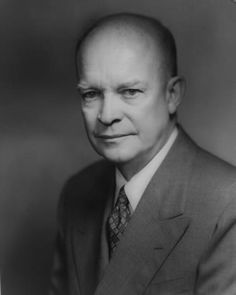 Dwight D Eisenhower, Thirty-Fourth President of the United States - Credit: Library of Congress, Prints and Photographs Division, LC-USZ62-117123 DLC