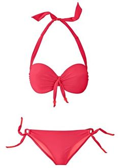 Beugelbikini met voorgevormde cups, Cup E from bonprix, pinned with <3 from me
