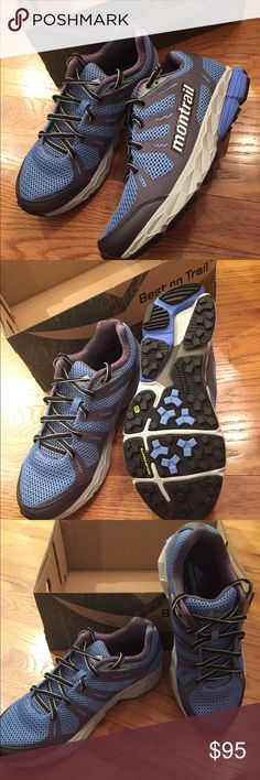 Montrail lightweight hiking shoe Gryptobite sole.                                              Mesh Montrail Shoes Athletic Shoes