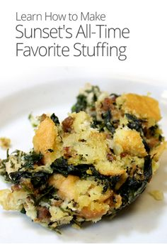 A unique take on a holiday classic, this 1966 recipe for Italian chard stuffing remains the most popular stuffing recipe we've ever published.