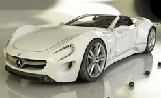 Mercedes-Benz Roadster Concept > Constructeur : Mercedes - Supercharged.
