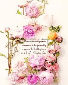 Perfume the Finishing Touch:  A Watercolor by ChezLorraines