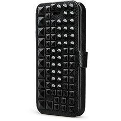 DeBari Sterlyn Duet Spike It Up Diary for Apple iPhone 5C - Black