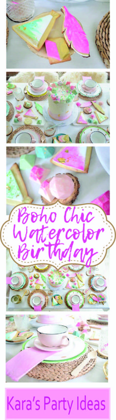 Boho Chic Watercolor