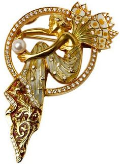 Masriera Diamonds & fermall de perles de fades