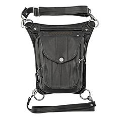 Speed and Strength Speed Society Leather Hip Bag - Cycle Gear