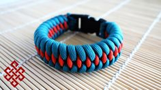 How to Make the Dragon's Teeth Paracord Bracelet Tutorial