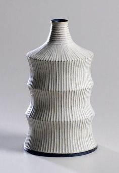 The Japanese master potter showcases his new pieces alongside wood and fabric works by fellow artists