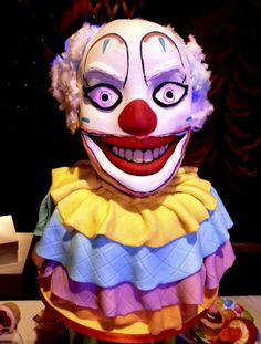 Birthday cake? some child is having nightmares tonight!
