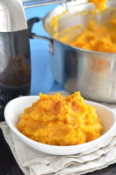 Mashed Butternut Squash. Healthy, Easy, Delicious!