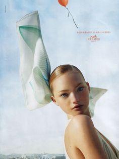 Gemma Ward for Hermès