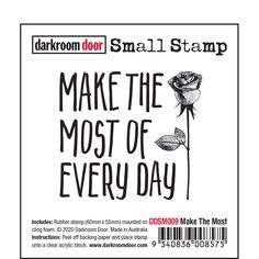 """Darkroom Door rubber stamps are mounted on cling foam. Suitable for card making, art journals, mixed media and more! Darkroom Door rubber stamps are known for their durability, deep etching and high image detail. Size: 60mm x 55mm (2.4"""" x 2.2""""). Stamp Making, Card Making, Foam Adhesive, Direct Marketing, Simon Says Stamp, Ink Pads, Distress Ink, Great Friends, Clear Acrylic"""