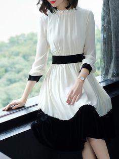 Stylish Dresses, Cute Dresses, Beautiful Dresses, Elegant Dresses For Women, Cute Simple Dresses, Elegant Style Women, Dresses Uk, Elegant Woman, Evening Dresses