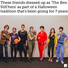 These friends have found a way to absolutely kill every costume contest by dressing up as characters played by the same actor. This year it's Ben Stiller. Pirate Halloween Costumes, Couple Halloween Costumes For Adults, Homemade Halloween Costumes, Costumes For Teens, Adult Costumes, Couple Costumes, Halloween Ideas, Homemade Couples Costumes, Homemade Mermaid Costumes