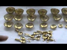 Tutorial : how to make ladle, egg compartment, ect, for dolls (French)